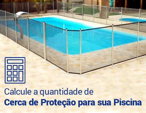 Cerca de proteção para piscinas