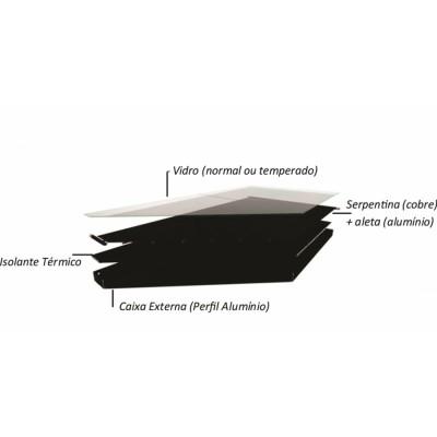 Kit Aquecedor Solar 200 lts - Indicado Clima Frio