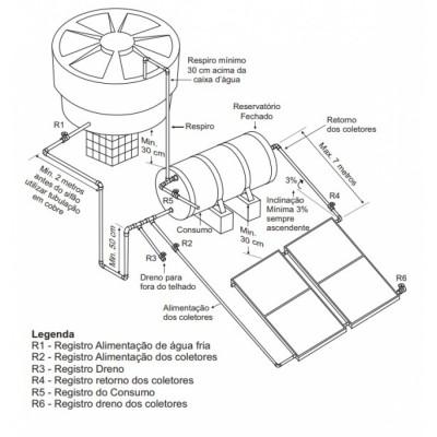 Reservatório Térmico - Boiler 200 litros