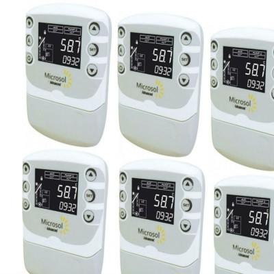 SWP Controlador Diferencial de Temperatura Caixa com 6 Un