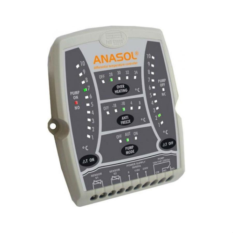 Controlador Diferencial de Temperatura Anasol