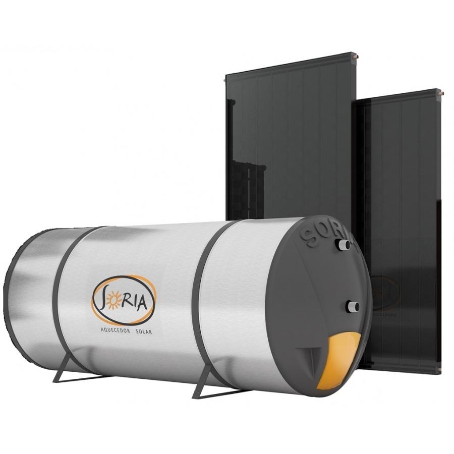 Kit Aquecedor Solar 400 lts - Indicado Clima Muito Quente
