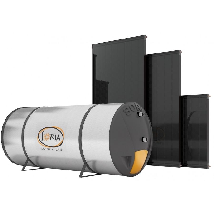 Kit Aquecedor Solar 500 lts - Indicado Clima Muito Quente