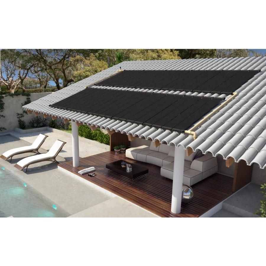 Kit Aquecedor Solar para Piscina 24 a 27 m² - Indicado Região Sul