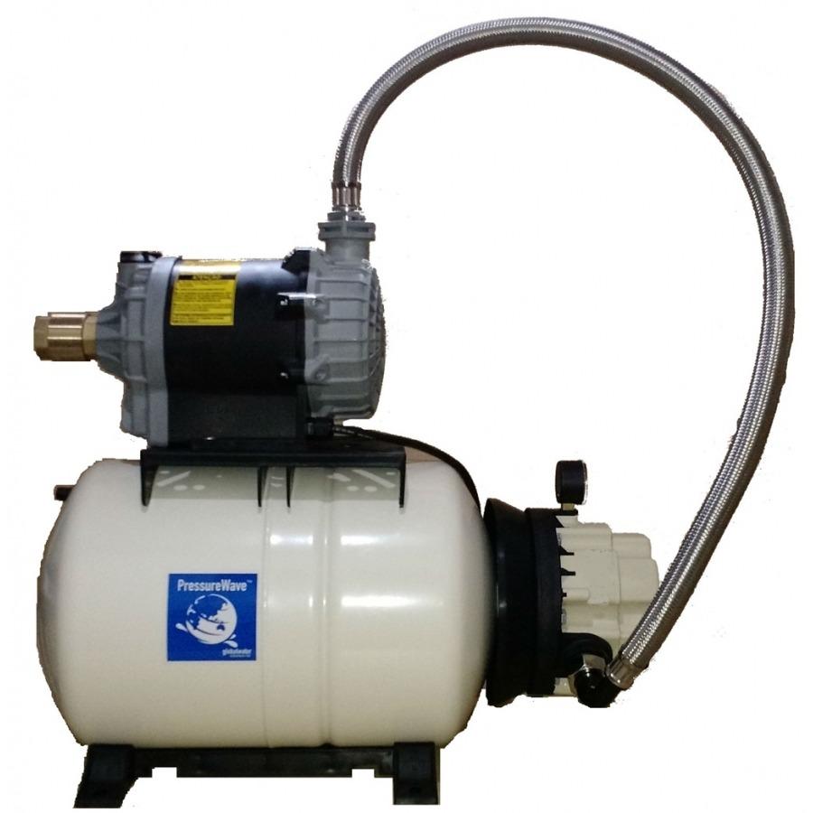 Sistema de pressurização com tanque de pressão 20 litros bomba centrifuga de 1cv