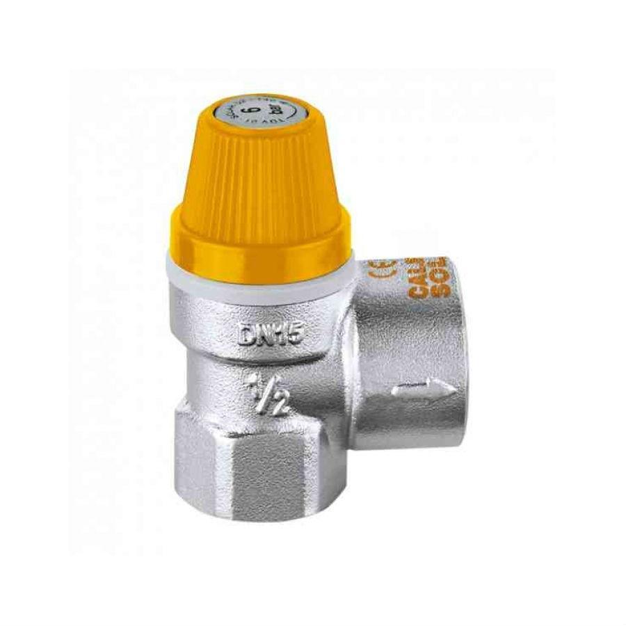 Válvula de Segurança por Pressão 3/4 - 6 Bar